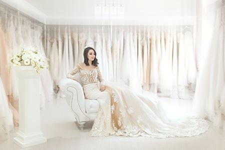 室内婚纱照欣赏